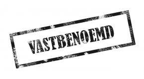 VASTBENOEMD