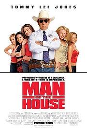 Чоловiк у будинку