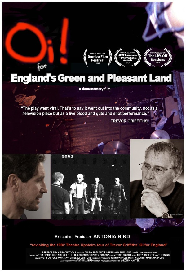 Oi For England's Green and Pleasant Land