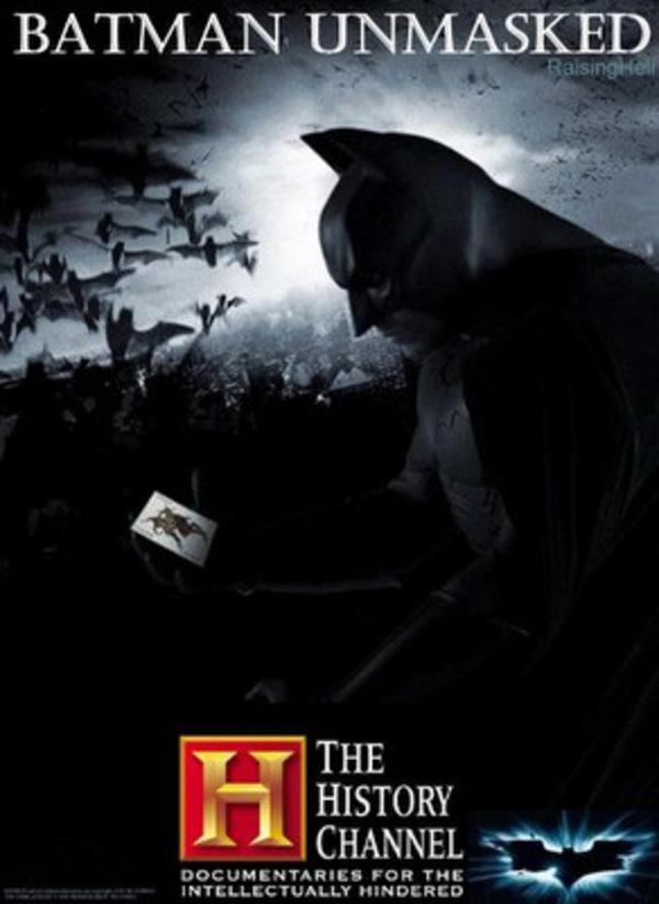 Бэтмен без маски